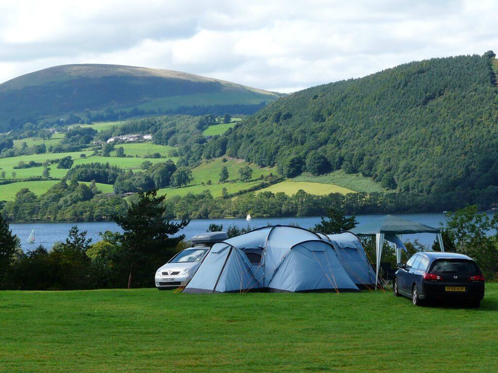 Park Foot Campsite with incredible views